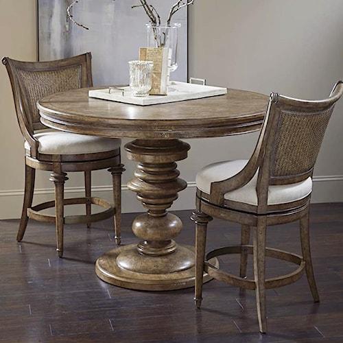 A.R.T. Furniture Inc Pavilion 3-Piece Counter Table Set