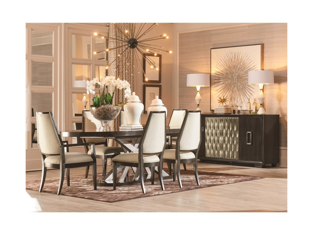 A.R.T. Furniture Inc Prossimo Oval Dining Table