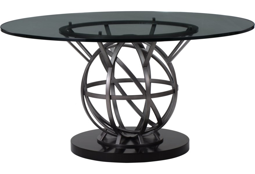 A R T Furniture Inc Prossimo Contemporary 54 Inch Round Dining Table Dream Home Interiors Dining Tables