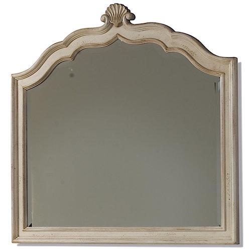 Belfort Signature Sonnet Dresser Mirror with Scalloped Detail