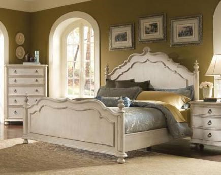 Shown with Triple Dresser with Mirror, Five Drawer Chest and Drawer Night Stand - Bed Shown May Not Represent Size Indicated