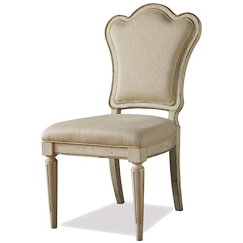 Belfort Signature Sonnet Upholstered Back Dining Side Chair