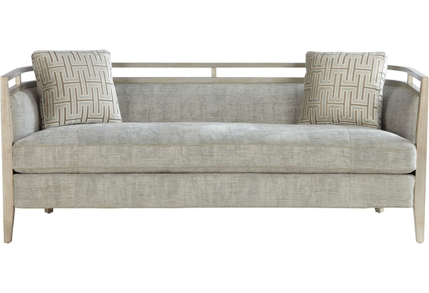 Relaunch Upholstery Glam Carlyle Sofa