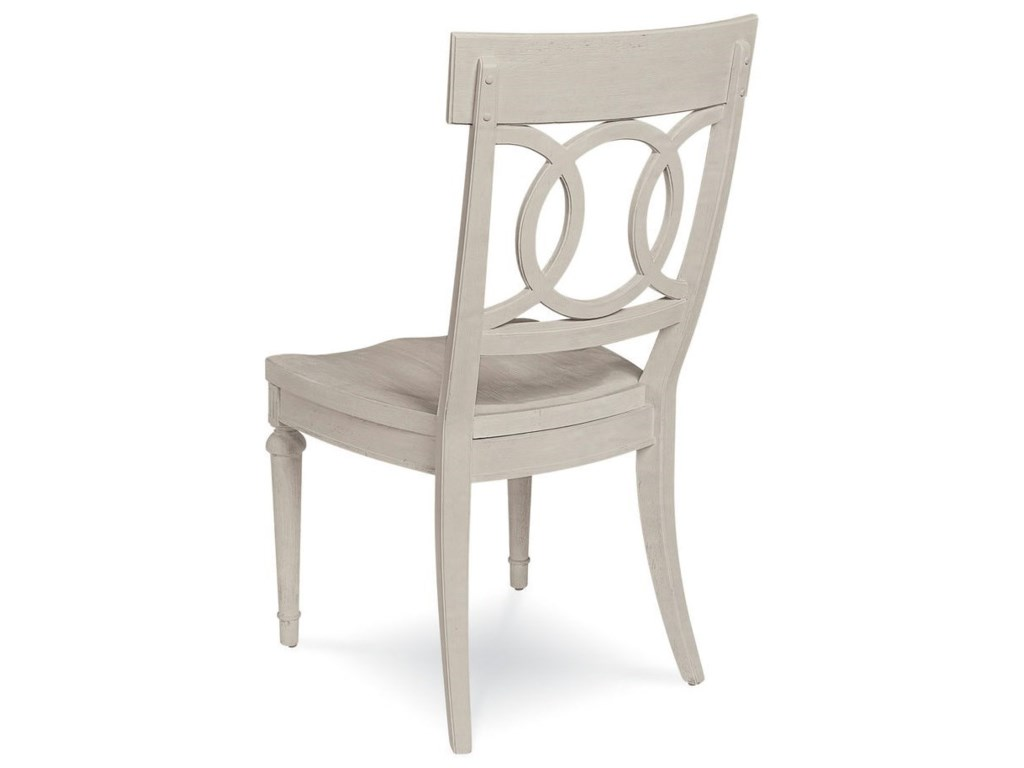 Belfort Signature ElizabethSophie Side Chair with Wood Seat