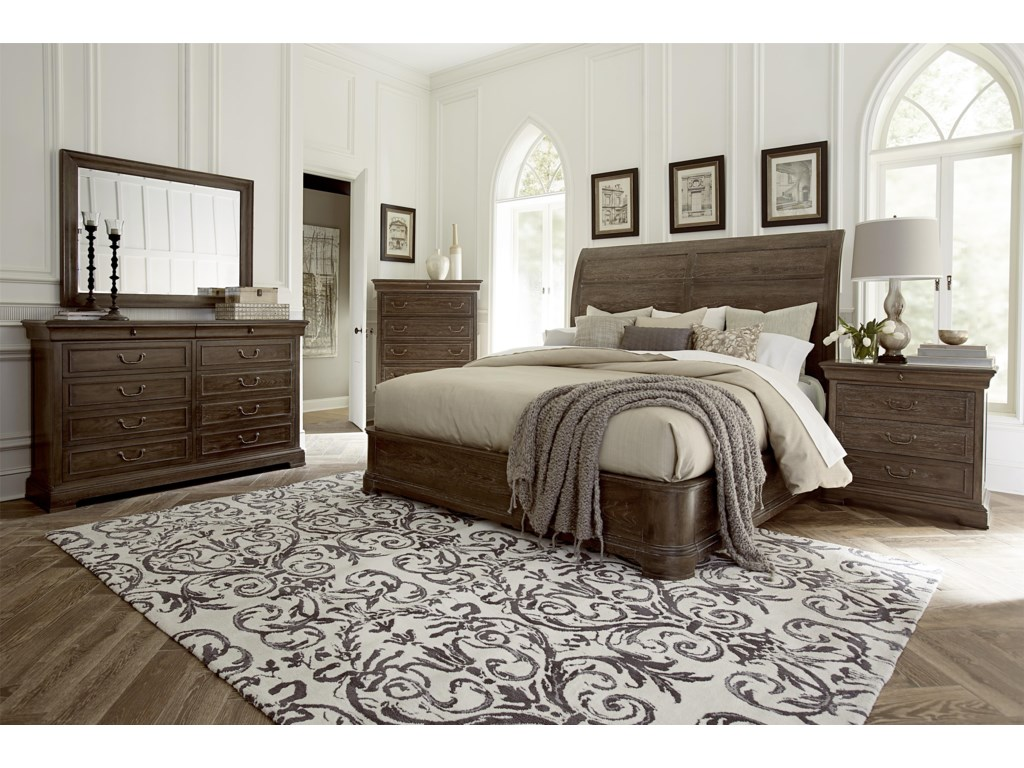 The Great Outdoors Saint GermainKing Bedroom Group