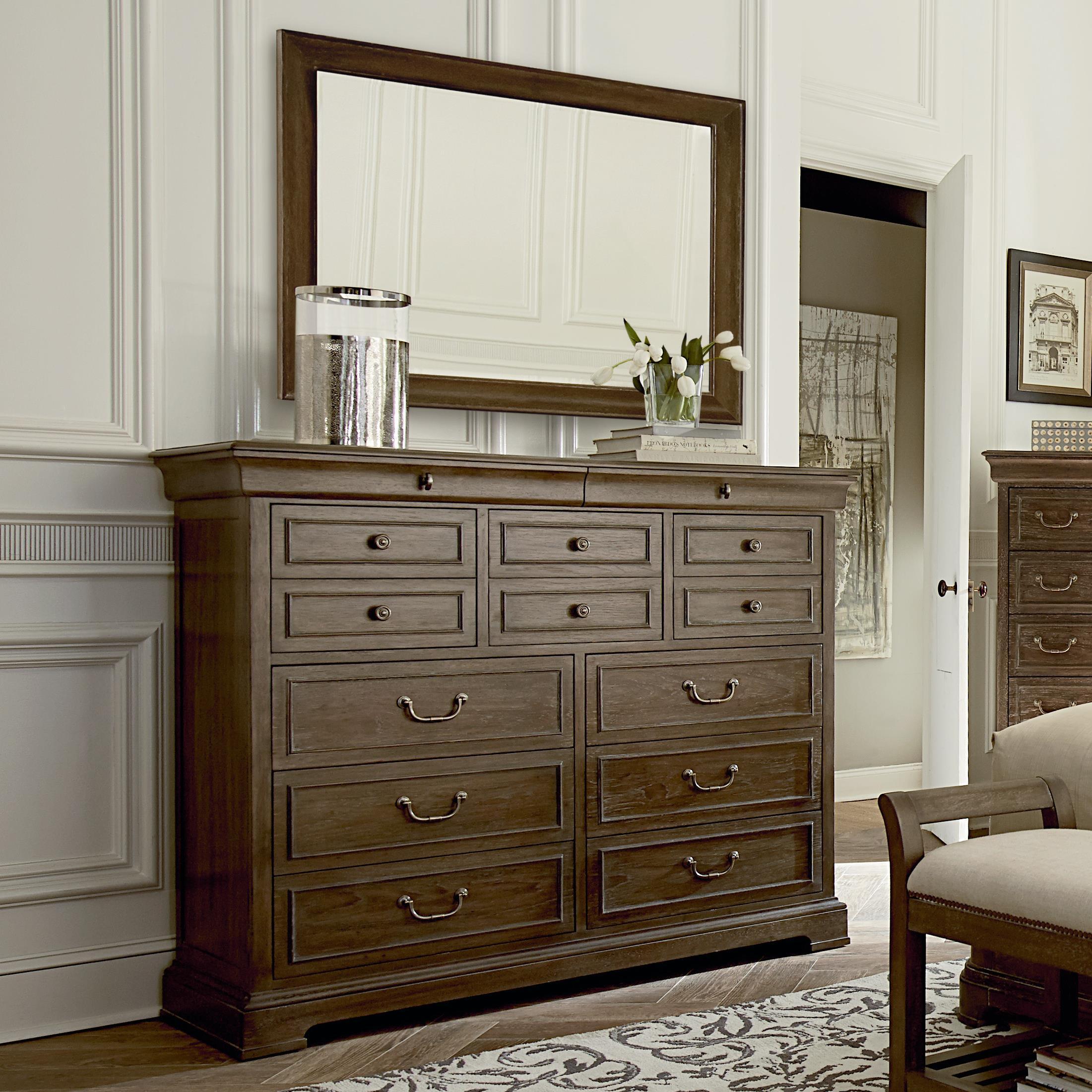 A.R.T. Furniture Inc Saint GermainLarge Dresser U0026 Mirror ...