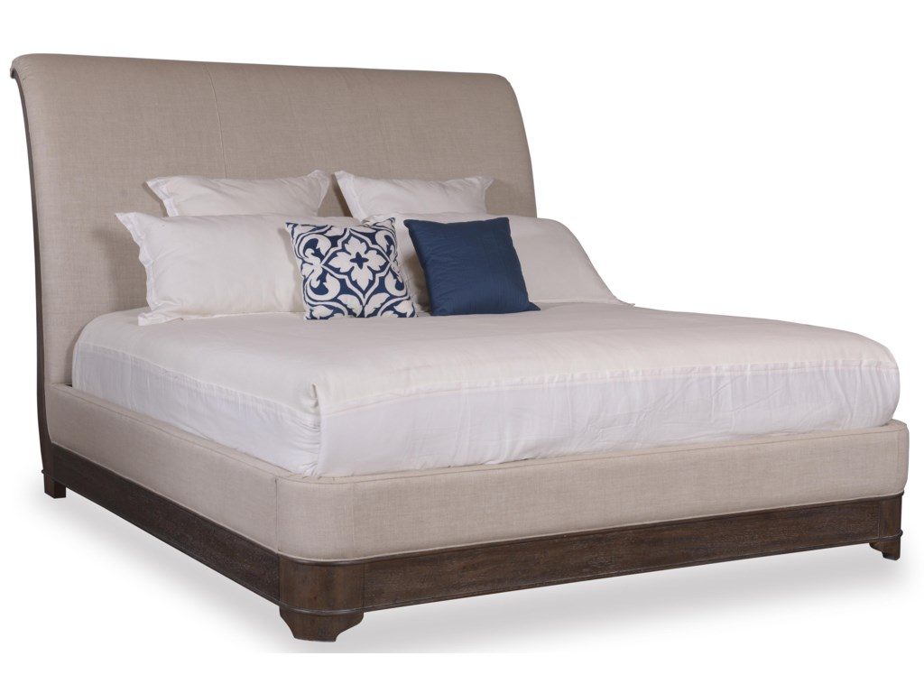 The Great Outdoors Saint GermainCalifornia King Upholstered Sleigh Bed