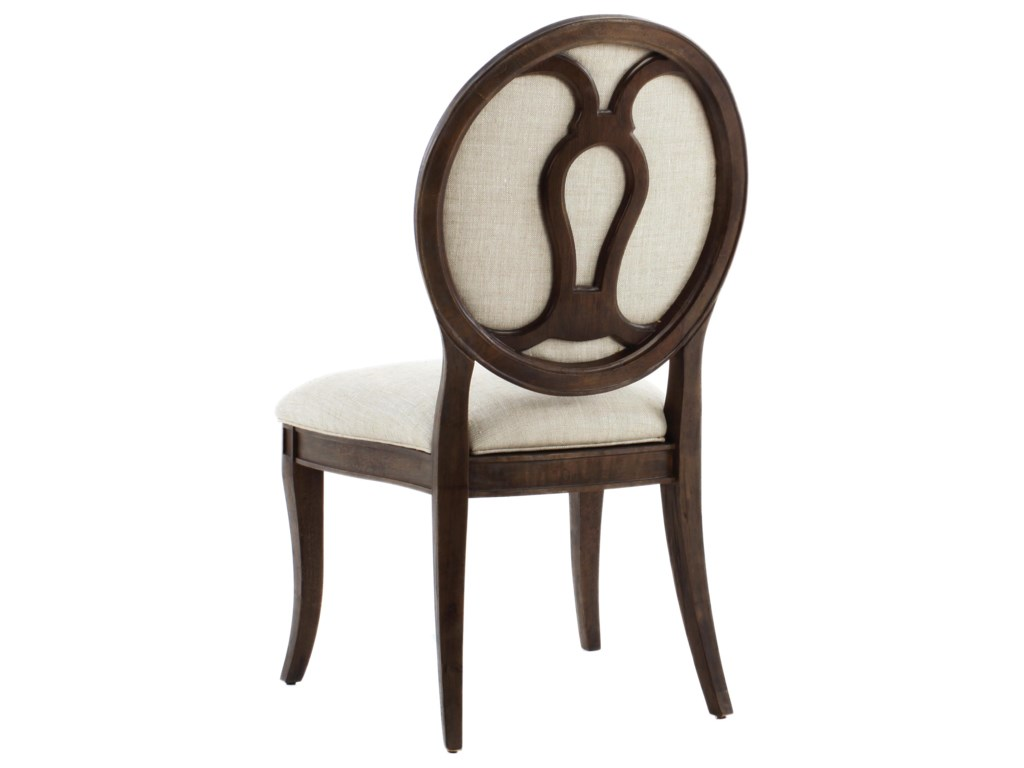 The Great Outdoors Saint GermainOval Back Side Chair