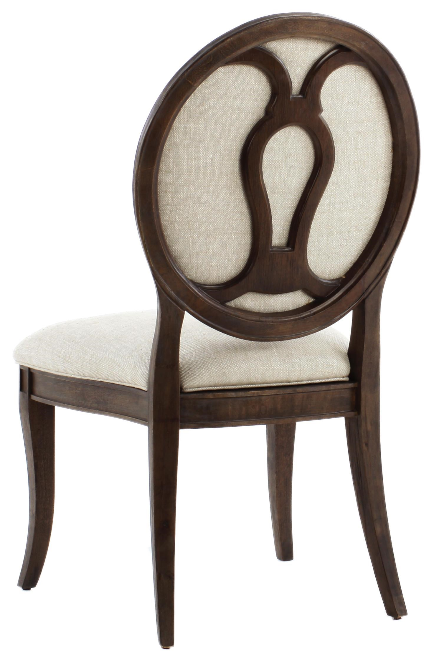 A.R.T. Furniture Inc Saint Germain Oval Back Side Chair