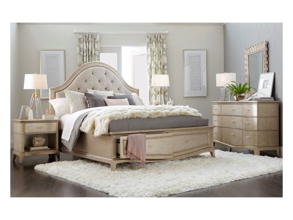 A.R.T. Furniture Inc StarliteKing Bedroom Group