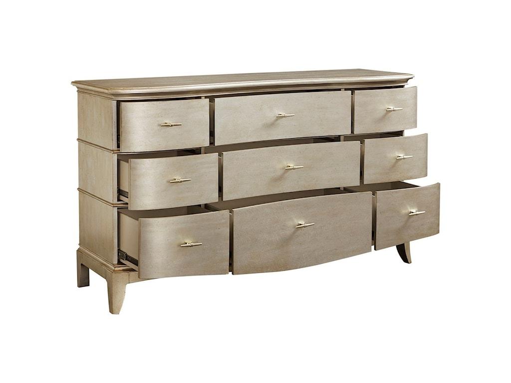 A.R.T. Furniture Inc StarliteDresser & Accent Mirror