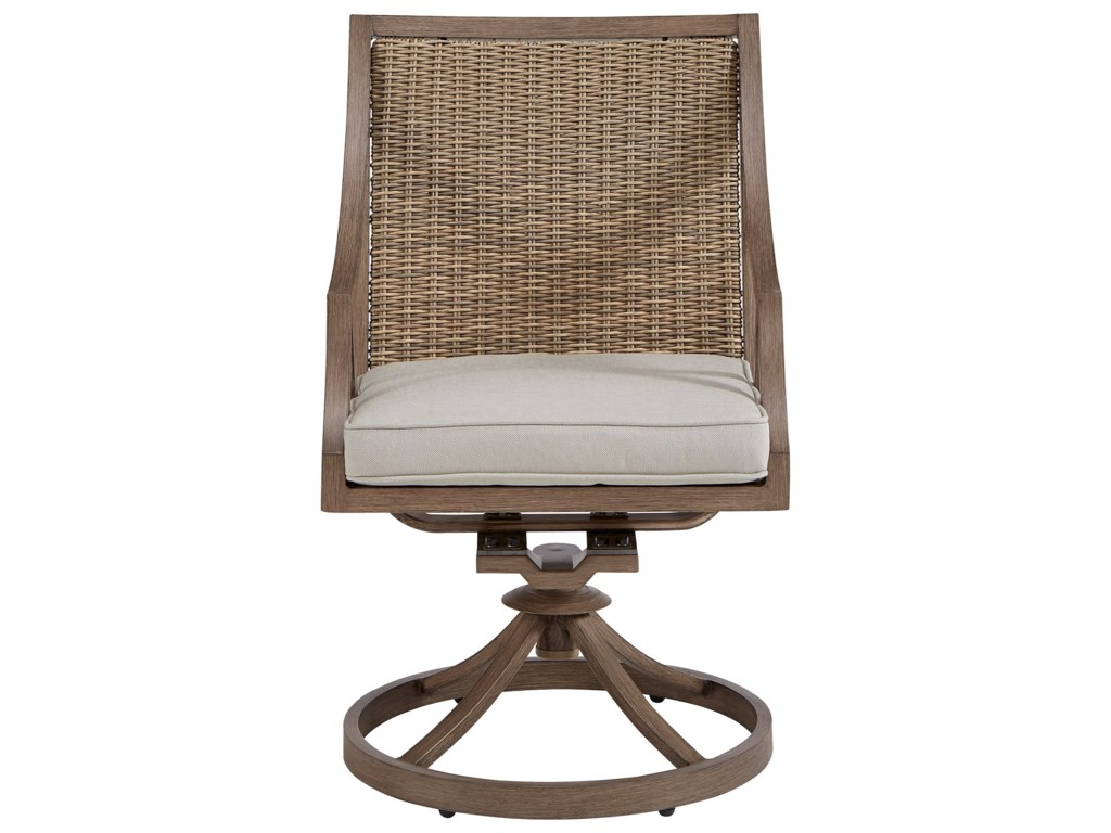 A.R.T. Furniture Inc Summer Creek OutdoorSwivel Rocker Dining Chair
