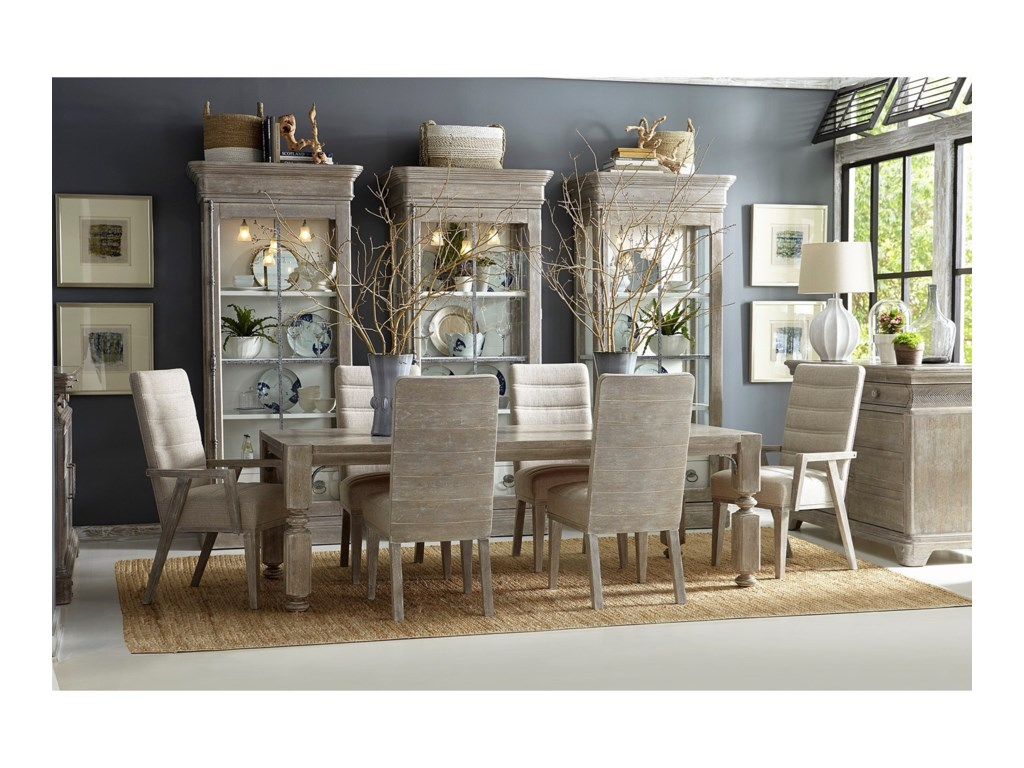 A.R.T. Furniture Inc Summer Creek 7 Pc Dining Set