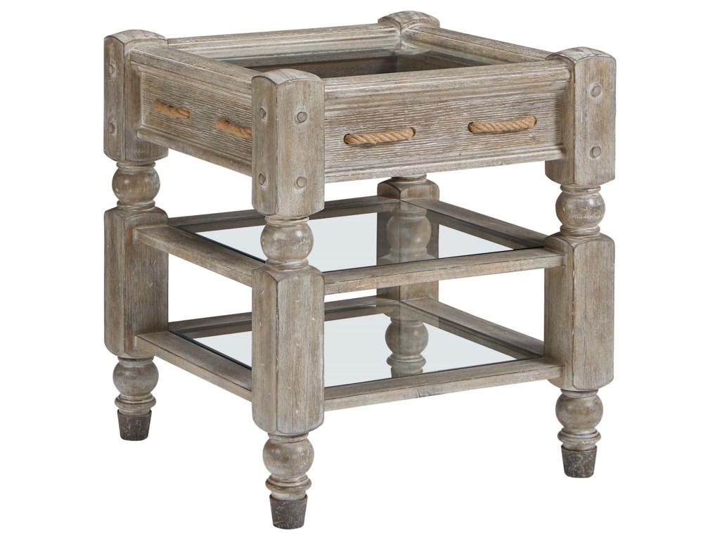 The Great Outdoors Summer Creek End Table