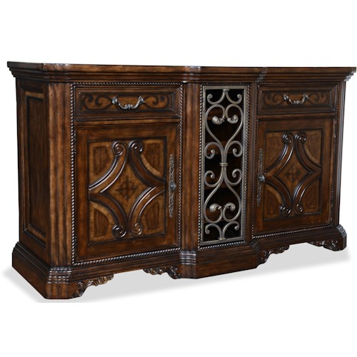 Belfort Signature Cortona Buffet w/ Metal Accents