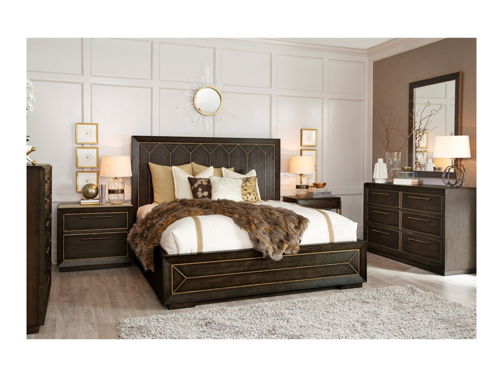 A.R.T. Furniture Inc WoodWrightKing Bedroom Group