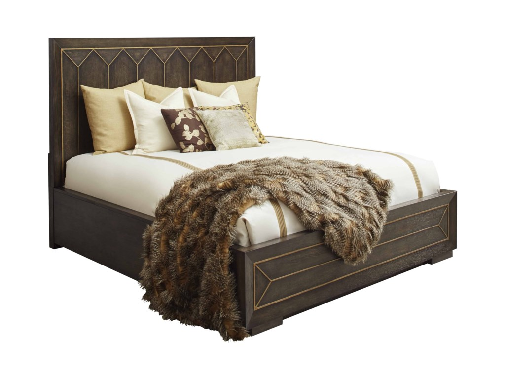 The Great Outdoors WoodWrightKing Eichler Panel Bed