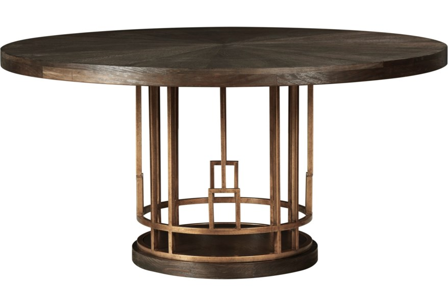 A R T Furniture Inc Woodwright Meyer Dining Table Home Collections Furniture Dining Tables