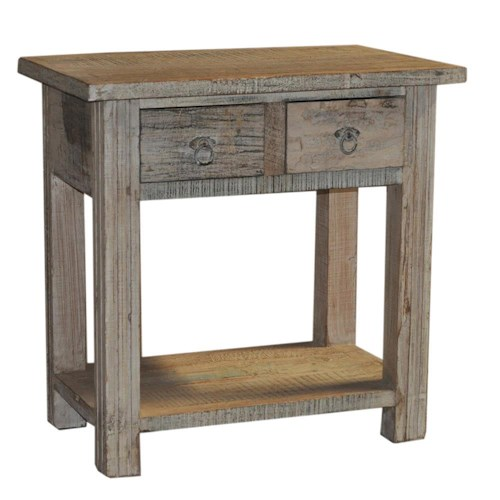 Artage International Rustic Accent Table