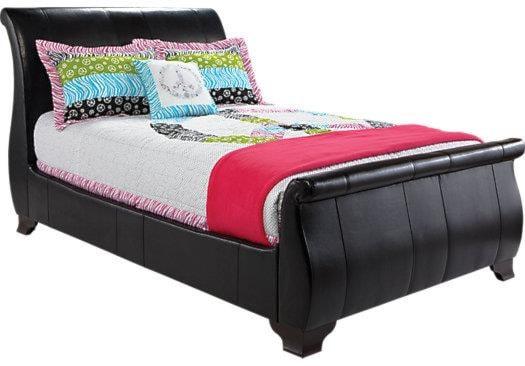 Artage International MirandaTwin Upholstered Sleigh Bed