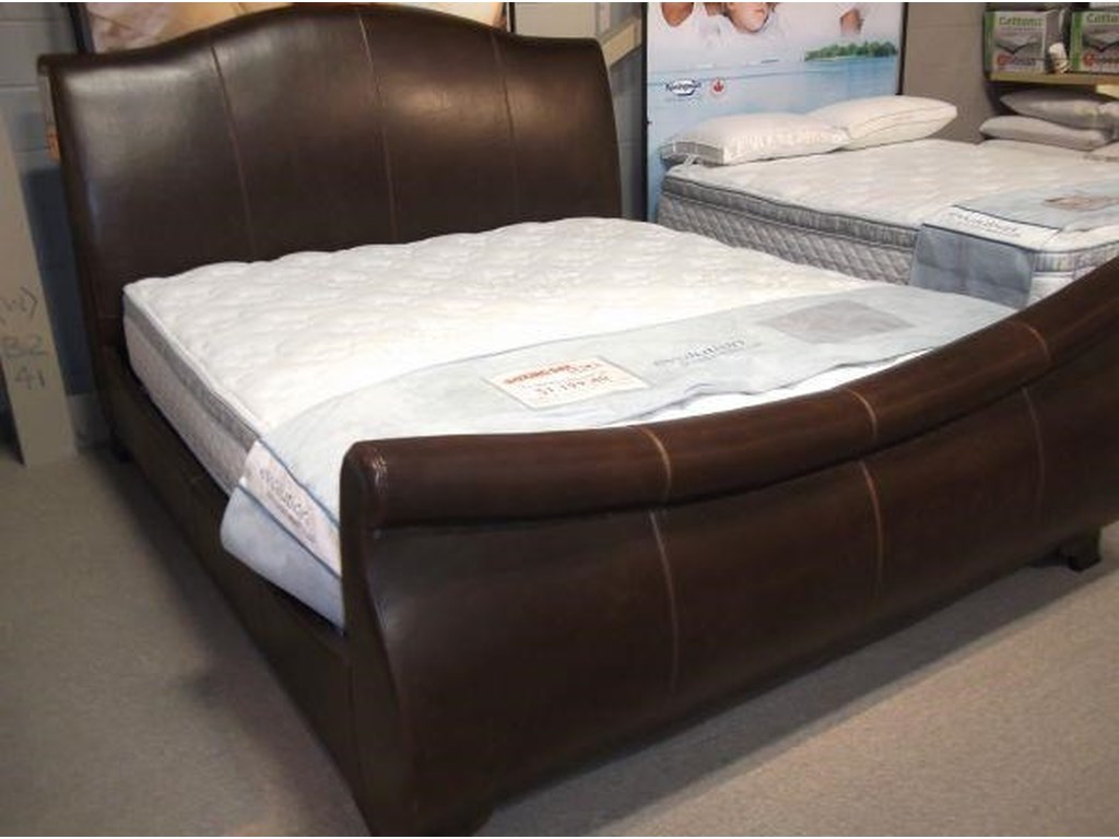 Artage International JacksonUpholstered King Sleigh Bed