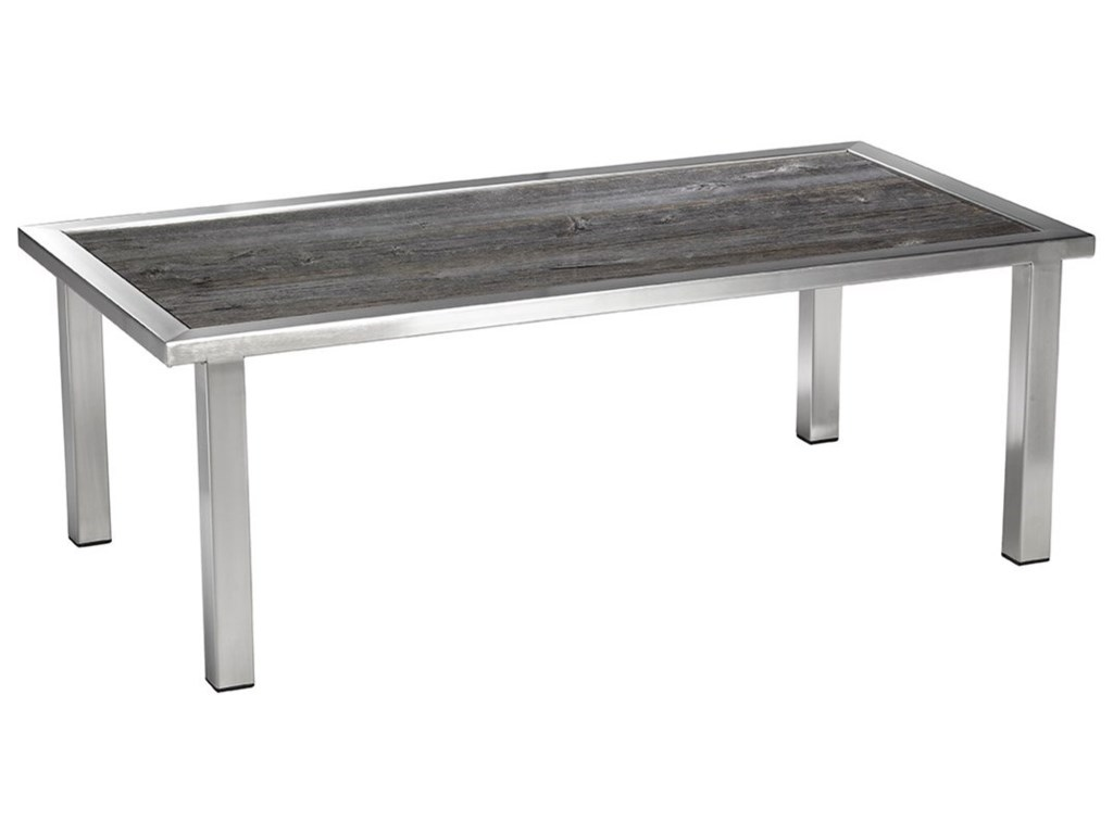 Artage International BarnboardRectangular Cocktail Table