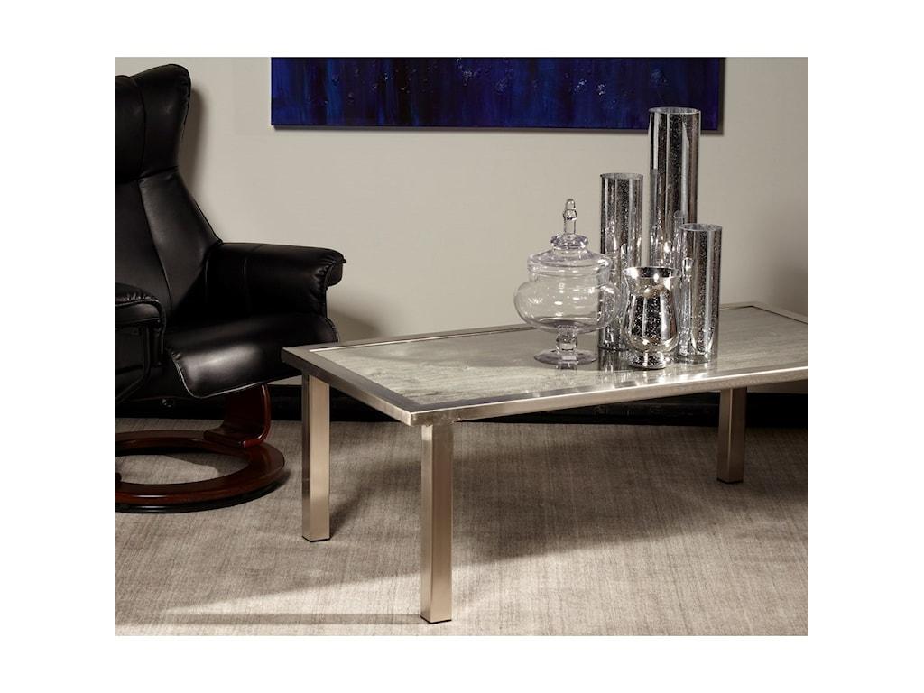 Artage International BarnboardRectangular Cocktail Table