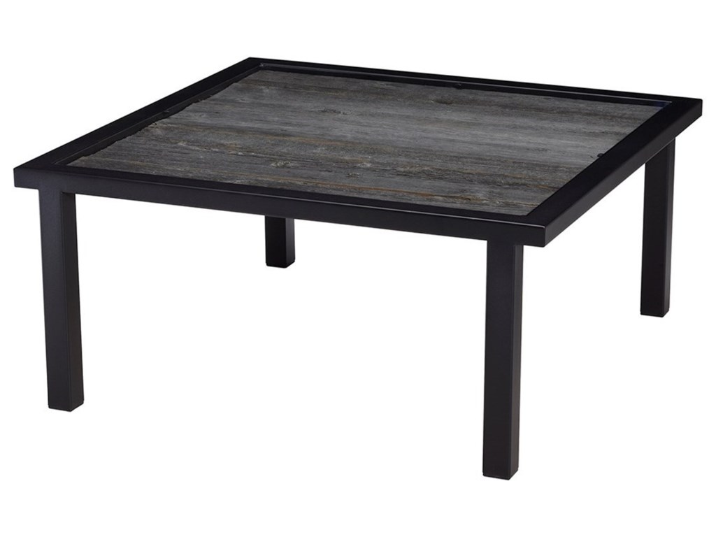 Artage International BarnboardSquare Cocktail Table