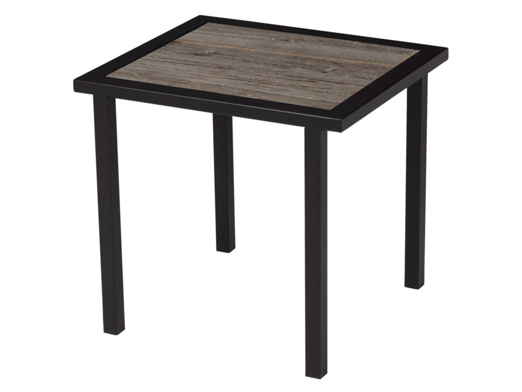 Artage International BarnboardRectangular End Table