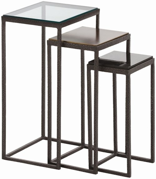 Arteriors Accent Tables Contemporary Nesting Accent Tables