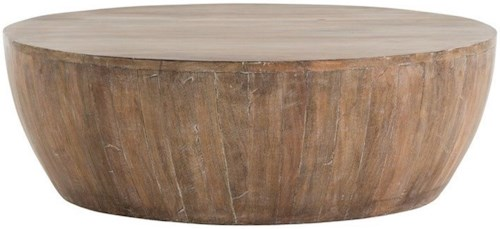 Arteriors Accent Tables Rustic Wood Cocktail Table