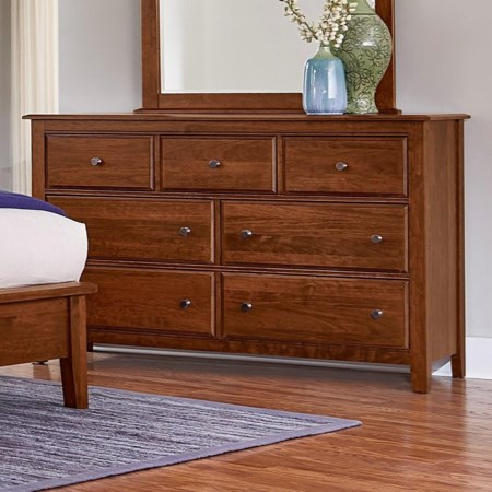 Loft Triple Dresser - 7 Drawers