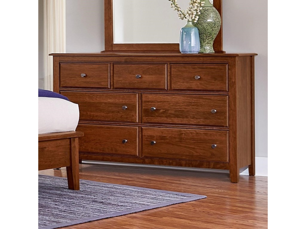 Post Choicesloft Triple Dresser 7 Drawers