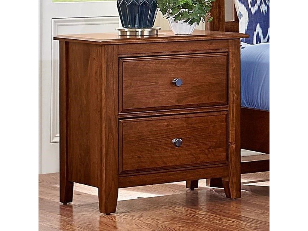 Artisan & Post Artisan ChoicesLoft Night Stand - 2 Drawers