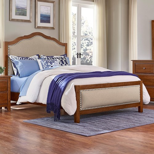 Artisan & Post Artisan Choices Queen Upholstered Bed