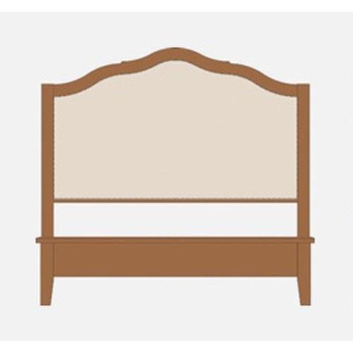Artisan & Post Artisan Choices King Upholstered Headboard w/ Low Footboard