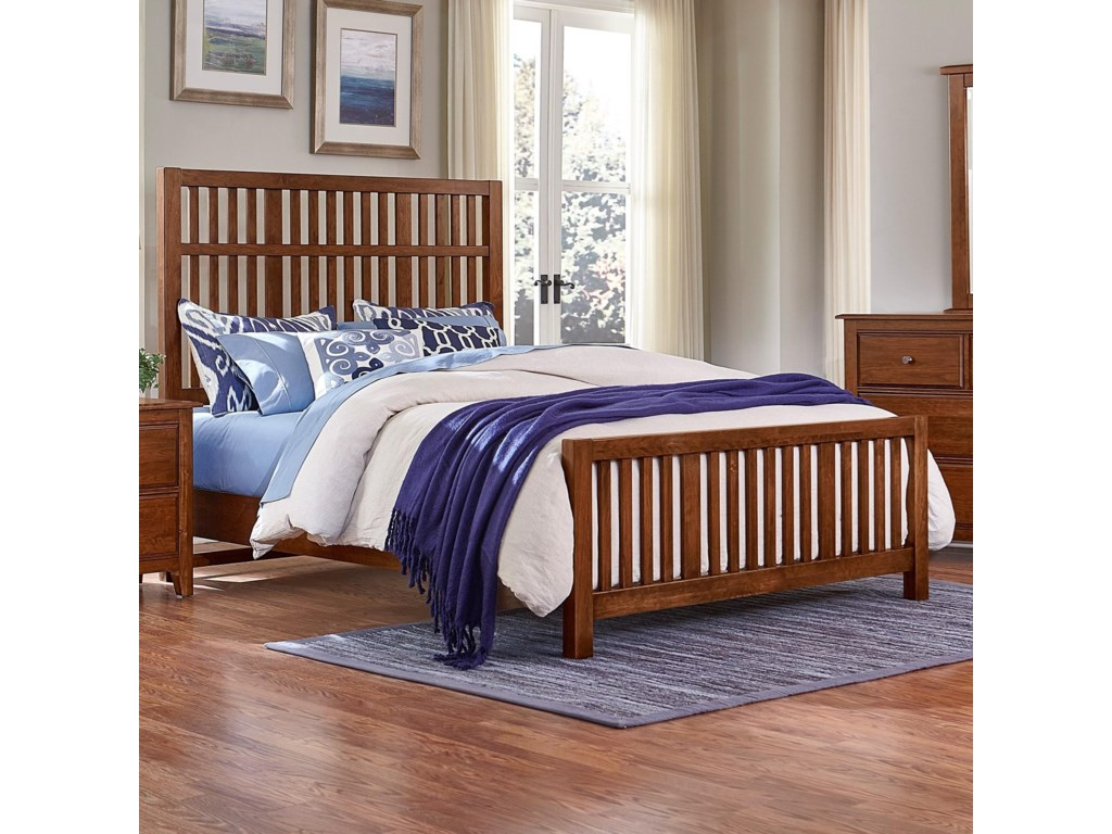 Artisan & Post Artisan ChoicesQueen Craftsman Slat Bed