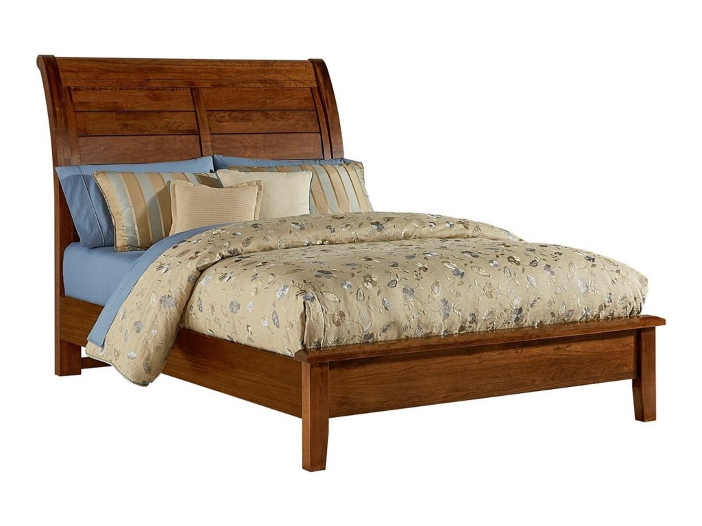 Artisan & Post Artisan ChoicesKing Sleigh Bed with Low Profile Footboard