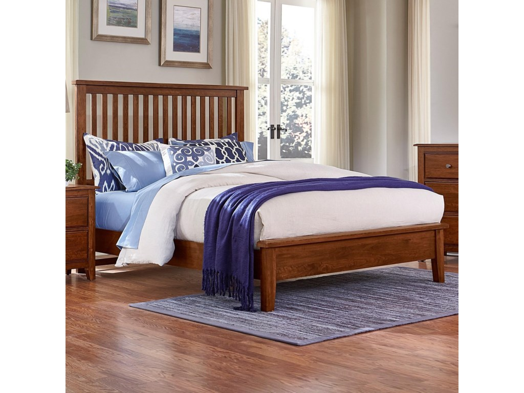 Artisan & Post Artisan ChoicesKing Slat Bed with Low Profile Footboard