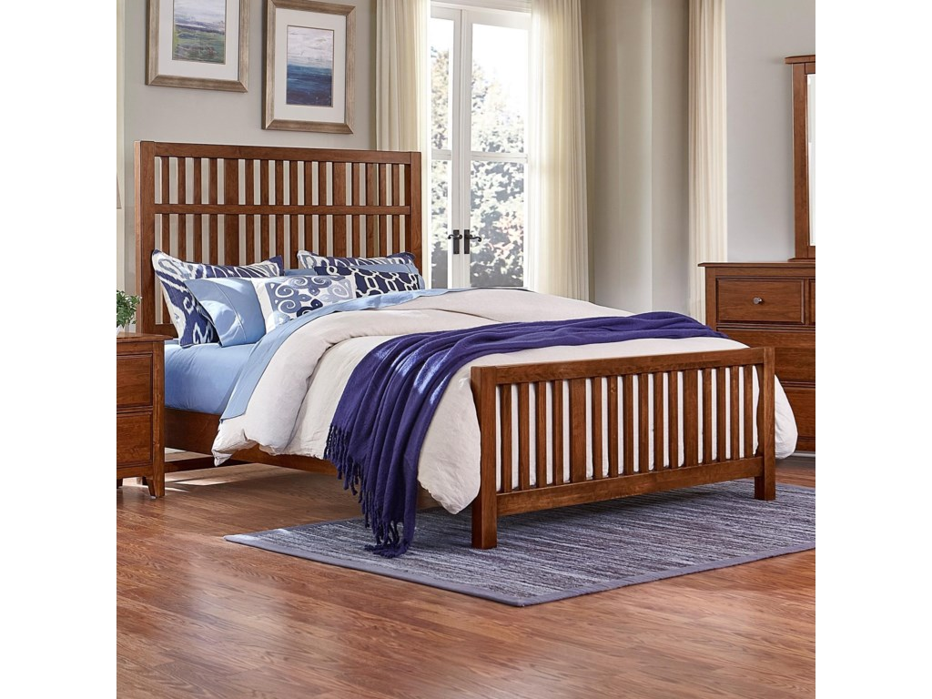 Artisan & Post Artisan ChoicesKing Craftsman Slat Bed