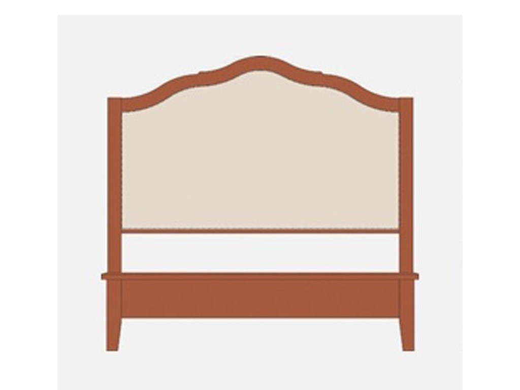 Artisan & Post Artisan ChoicesQueen Upholstered Headboard w/ Low Footboard