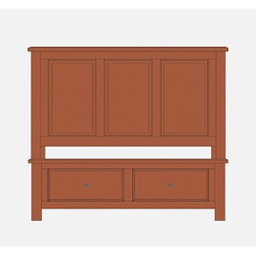 Artisan & Post Artisan Choices Queen Panel Storage Bed