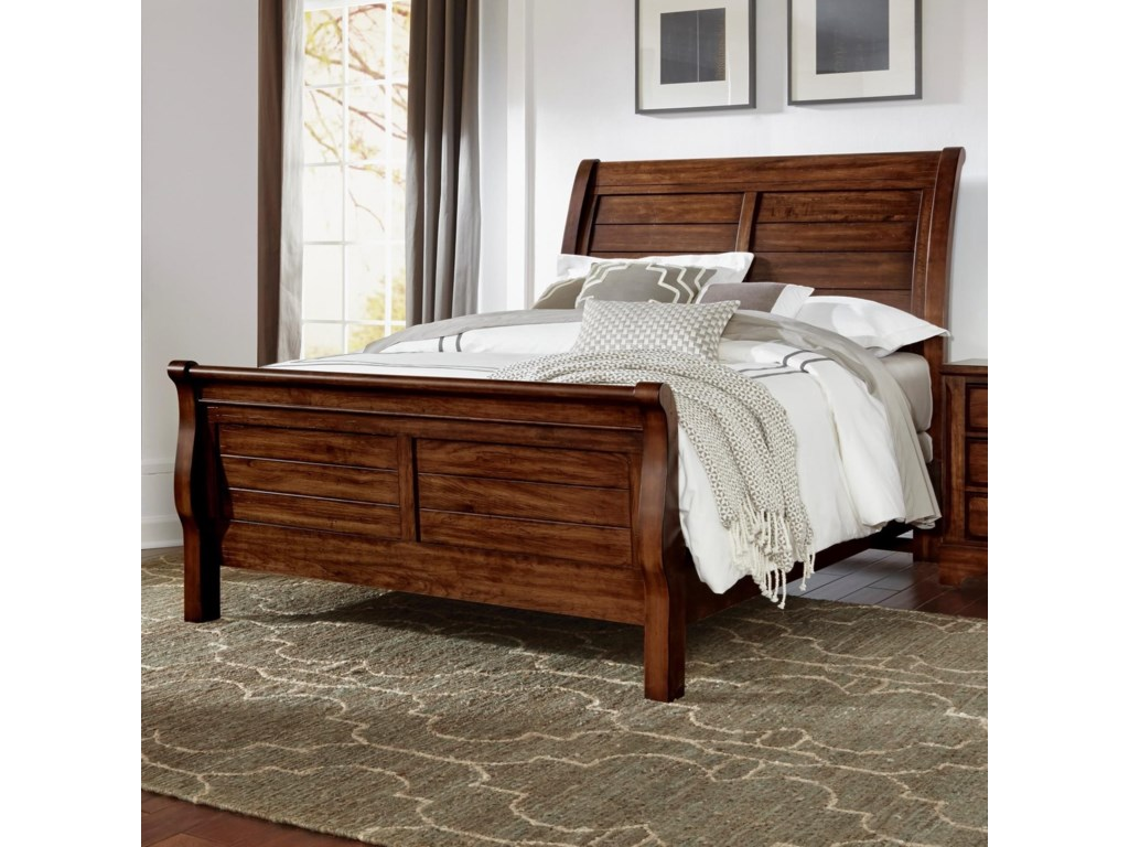 Artisan & Post Artisan Choices Solid Wood King Sleigh Bed | Belfort ...
