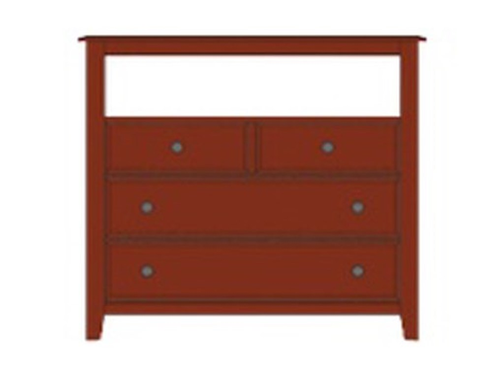 Artisan & Post Artisan ChoicesLoft Media Chest - 4 Drawers
