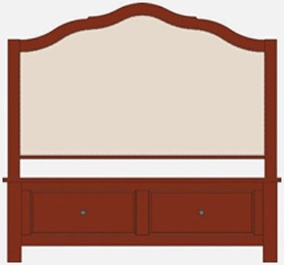 Artisan & Post Artisan Choices King Upholstered Storage Bed
