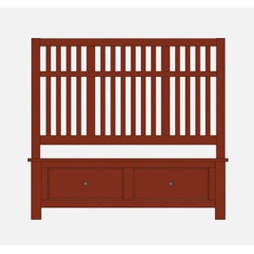 Artisan & Post Artisan Choices Queen Craftsman Slat Storage Bed