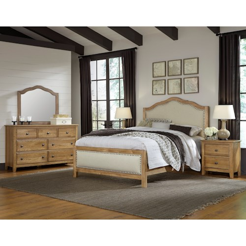 Artisan & Post Artisan Choices Queen Bedroom Group