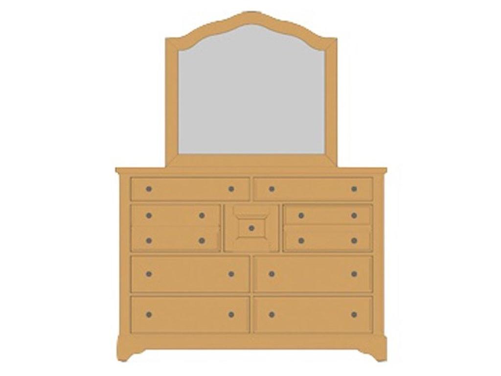 Artisan & Post Artisan ChoicesVilla Triple Dresser & Arched Mirror
