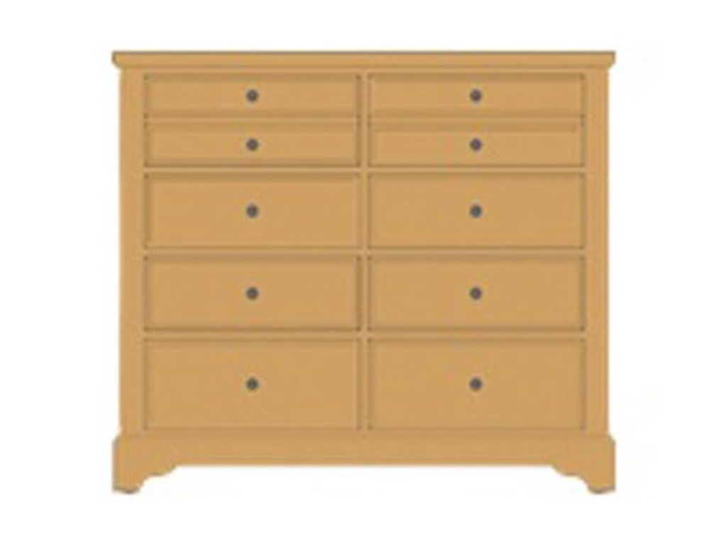 Artisan & Post Artisan ChoicesVilla Media Dresser - 8 Drawers
