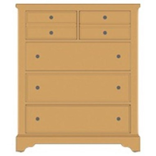 Artisan & Post Artisan Choices Solid Wood Villa Chest - 5 Drawers